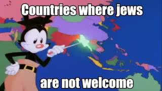 109 Countries Of The World - Where Jews Are Not Welcome!!!