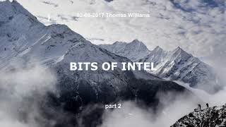 Bits Of Intel - part 2