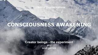 Creator Beings - the experiment and soul games