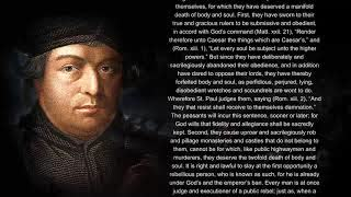 What Martin Luther said about Rebellion and Revolution