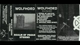 Wolfhord - Realm of Pagan Storms demo 12-97 (1998)