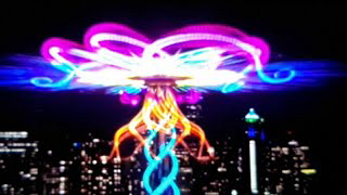 2021 SPACE NEEDLE NEW YEARS LIGHT SHOW