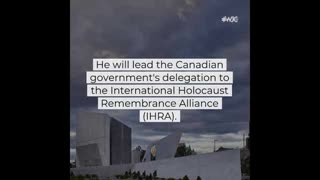 Canada Appoints 1st Holocaust & Counter Anti-Semitism Envoy
