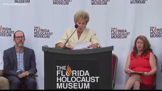 """""""Unite Against Hate"""" Rally at The Florida Holocaust Museum"""
