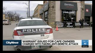 Warrant Issued for Cafe Owners Charged FAKING Anti-Semitic Attack