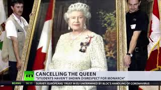 The Queen Canceled  - Oxford Students Remove Elizabeth II's Portrait Over UK's 'Colonial History'