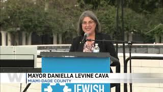 Miami: 'No Fear, No Hate!' Rally Against Anti-Semitism