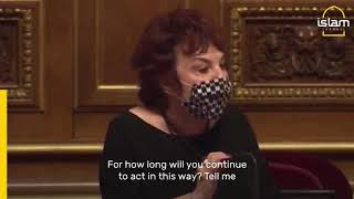 Jewish Politician PASSIONATELY DEFENDS Muslims In French Senate