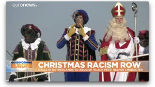 """In a Year of BLM Protests, the Dutch Christmas Tradition of """"Black Pete"""" is Targeted"""