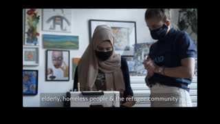 IsraAID: Refugees Sew Face Masks for People In Need