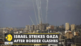 Israel launches airstrikes on Gaza after border clashes | Latest World English News | WION News