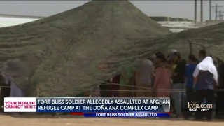 Fort Bliss woman soldier assaulted at Afghan refugee camp