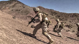 """US Marines Military Tactics – """"Fire and Movement"""""""