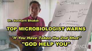 """TOP MICROBIOLOGIST WARNS IF YOU DARE TAKE THE 2ND COVID SHOT, """"GOD HELP YOU"""""""