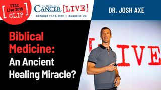The Role of Biblical Nutrition in the Fight Against Cancer | Dr. Josh Axe at TTAC LIVE 2019 Anaheim