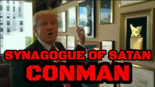 DONALD J TRUMP PROOF HE IS PART OF THE SYNAGOGUE OF SATAN