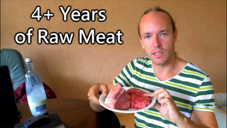 Guy Eats Raw Meat, Brains, Drinks Blood & Doesn't Give Two Shits