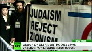 'Judaism Yes, Zionism No': Ultra-Orthodox Jews march against Israel