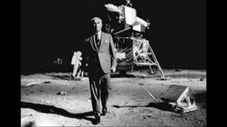 Wikileaks releases rushes of the film of NASA's mission to the moon shot in NEVADA.