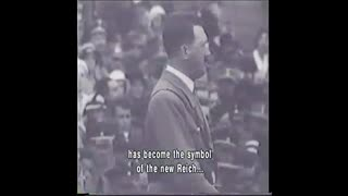 Adolf Hitler speaks at the NSDAP Victory of Faith rally in 1933 english subtitles