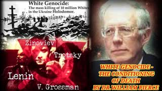 WHITE GENOCIDE - THE CONDITIONING OF DEATH BY DR.WILLIAM PIERCE