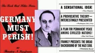 "(((Theodore N. Kaufman's))) book ""Germany Must Perish"""
