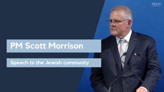 Scott Morrison: If you want to understand community, understand the Jewish community