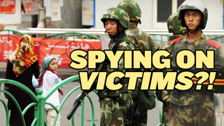 The police state may treat us like the Uighurs