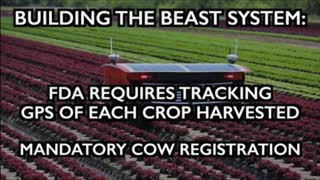 Building the Beast System: FDA wants GPS on crops - Spinach sends email - Cow registration mandates