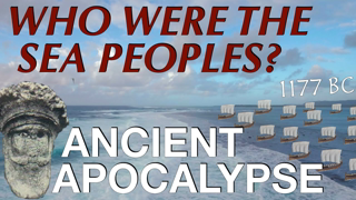 The Sea Peoples & The Late Bronze Age Collapse // Ancient History Documentary (1200-1150 BC)