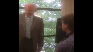 ASTRONAUT BUZZ ALDRIN ANGRILY LEAVES INTERVIEW