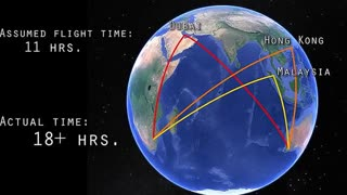 School Brainwashed You With Globe But Flight Paths Show Flat Earth