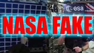 They're Using Green Screens Because It's Not Real - NASA HOAX