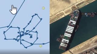 Confirmed! Ever Given Draws Huge Penis Before Ramming Itself Up the Suez!