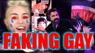Miley Cyrus Admits To Being A Fake Gay