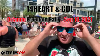 """GDL's """"14 Heart"""" Infiltrates Anti Vaccine Rally To NAME THE JEW!"""