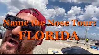 NAME THE NOSE TOUR FLORIDA ! BANNER DROP