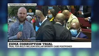 Former South African president Zuma's corruption trial delayed to May 26