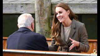 Kate hails 'powerful' conversations with Holocaust survivors on royal engagement