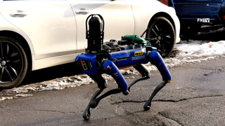 NYPD Robot Dog deployed for Reported Armed Home Invasion in the Bronx