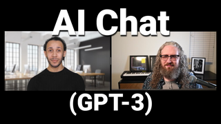 Jew shows off his AI mamzerr bot designed by Kalergi: An Interview with GPT-3