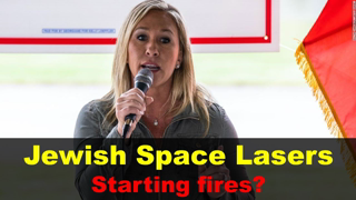 Marjorie Taylor Greene expelled from congress?   Jewish Space Laser