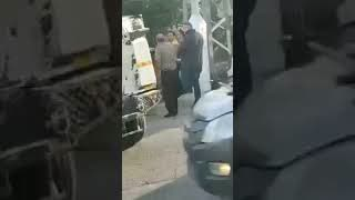 Heavily armed Jewish settlers assault Palestinians in the occupied West Bank.