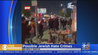 Police Investigate Possible Jewish Hate Crime Attack At Beverly Grove Restaurant
