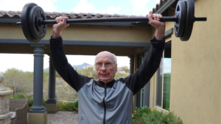 How This 92-Year-Old Works Out Without A Gym