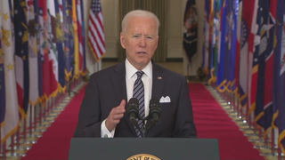 Biden played 'sheriff' on '09 aid, now salesman on COVID law