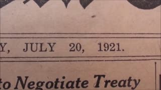 Part6/9. New York Times, July 20th, 1921. BEGS AMERICA SAVE 6,000,000 IN RUSSIA.