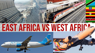 Why East Africa has more Mega construction Projects than West Africa ?