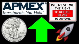 Silver Prices are UP and Bullion Dealers REFUSED to Sell Silver