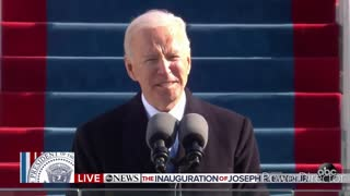 Media Coverage of Joe Biden First day As President vs Donald Trump and National Guards Disrespected